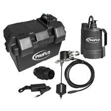 Proflo Pf92910 Battery Back Up Sump Pump System 1080 Gph 10