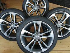 4 original AUDI A4 8W B9 Sommerräder 245/40 R18 Alufelgen 8W0601025J 8x18 ET40