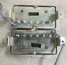 1960s Gibson post PAF T Top Patent Number Sticker Humbuckers Les Paul SG 335 45