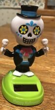 New 2019 Solar Powered Dancing Toy Halloween DAY OF THE DEAD  - Boy