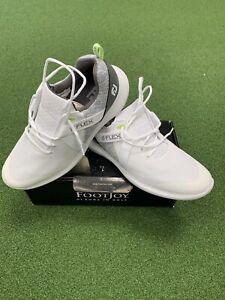 Brand New Footjoy Flex Golf Shoes. White. Size 11.