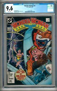 Wonder Woman #2 (1987) CGC 9.6 White Pages  Perez - Potter