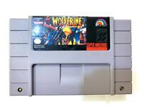 Wolverine SUPER NINTENDO SNES GAME Tested + Working & Authentic!