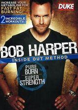 Bob Harper: Inside Out Method - Pure Burn, Super Strength DVD Brand New