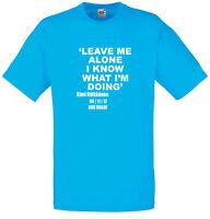 I Know What I'm Doing, Kimi Raikkonen inspired Men's Printed T-Shirt