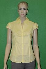 BEN SHERMAN Women's Pale Yellow Fashion Sleeveless Spring Blouse GT1040 Sz S $70