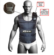 20 Kg Adjustable Weighted Vest Crossfit Training MMA Gym Weight Training vests