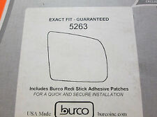 BURCO MIRROR GLASS # 5263 FITS TOYOTA SEQUOIA TUNDRA RIGHT PASSENGER SIDE