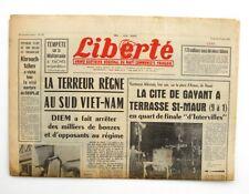 Liberté n°302 - 1963 - Quotidien du parti Communiste - Cité de Gayant St Maur