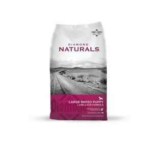 Diamond Naturals Premium Large Breed Formulas Dry Dog Food for Adult Dogs and...