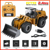 HUINA583 1:14 Remote Control RC Truck Excavator Bulldozer Digger Car Model Toy