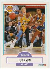 1990 Fleer Magic Johnson #93
