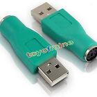 USB Mâle vers PS / 2 PS2 Femelle Adaptateur souris clavier convertisseur to usb