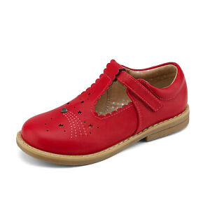 Kids Girls Babys Flat Shoes Princess Shoes Party Wedding Dress Shoes Size Red US