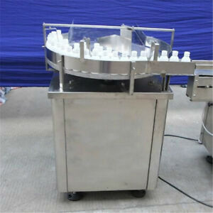 """24"""" Automatic Bottle Accumulation Table Bottle Turning Table Sorter Packing"""