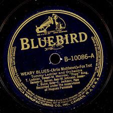 TOMMY LADNIER & HIS ORCH. Weary Blues / Ja-Da    Schellackplatte 78rpm X2964