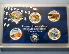">2006 COLORIZED STATE QUARTERS, LOT of (5) UNCIRCULATED ""Work of Art"" COINS"