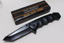 """8"""" Tac-Force Assist Open Black Comp Handle SS Tanto Blade Pocket Knife TF-499BT"""