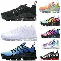 Womens Mens TN Vapor Running Shoes Air Cushion VM Metallic Trainer Sneaker