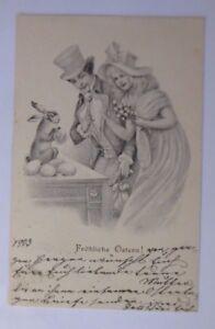 Ostern, Frauen, Männer, Mode, Hase, Ostereier,    1903 ♥ (62991)