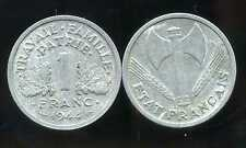 FRANCE WW2 1 franc 1944 ETAT FRANCAIS ( it )