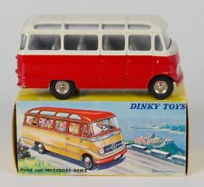 FRENCH Dinky 541 Mercedes-Benz Autocar Bus. Red/Cream. 1960's/BOXED