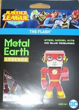 The Flash Justice League Metal Earth Legends 3D Laser Cut Metal Model Kit MEM027