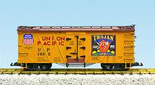 Usa Trains G Scale Out Brac Reefer 15024B Union Pacific/Trojan Apples (#1056)