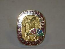 1989 All Star Game NBC Balfour Press Pin from Lou Matlin