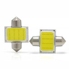 For Car Interior Dome Map White 2PCS 31mm 12smd COB LED DE3175 Light Bulbs Hot