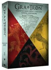 GRA O TRON (GAME OF THRONES) - SEZON 3 - EDYCJA SPECJALNA DIGIPACK [5 DVD]