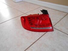 2010 2011 2012 Audi A4 S4 Tail Light LH Left Driver Side All tabs - Tested - OEM