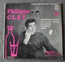 Philippe Clay, cigarettes whisky et p'tites pepées + 3,  EP - 45 tours