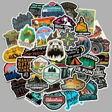 49 PCS Outdoor Camping Stickers Bomb Vinyl Skateboard Guitar Luggage Pack Tide