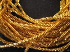 2kg Gold Smooth Purl and 1 kg gold check purl