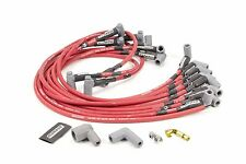 High Performance Red Spark Plug Wires Small Block Chevy 327 350 400 Moroso 73684