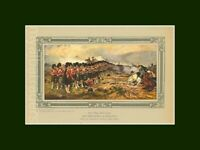 The Thin Red Line 93rd Sutherland Highlanders Balaclava Mounted & Sealed Print
