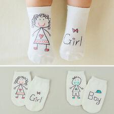 Bébé nouveau-né en coton asymétrie anti-dérapante chaussettes de sol HQ