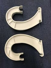 PA6-  ClosetMaid Rod Bar Support Hanger J-Bracket Hooks (2) -