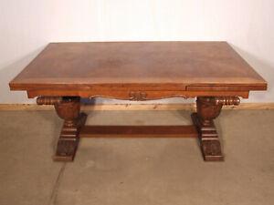 EF 1064 Schöner Neo Renaissance Tisch Eiche Ausziehbar bis 277 cm Landhaus Stil