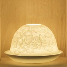 Tea Light/Tealight Holder ~ Nordic Lights ~ FLOWERS (4) ~ Ceramic/Porcelain