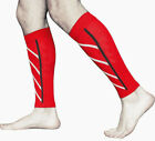 pair Calf Support Graduated Compression Leg Sleeve Outdoor Sports Socks Exercise