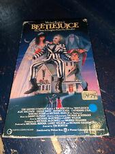 Beetlejuice Betamax Beta Michael Keaton Horror Comedy 80s Tim Burton