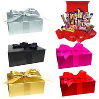 Huge Variety Chocolate Bar 22/37 Gift Box Hamper kitkat Galaxy Kinder Cadbury