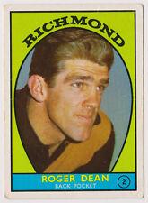 1968 A Scanlens Richmond No. 2 Roger Dean Tigers near MINT card ****