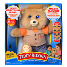 Teddy Ruxpin Storytime and Magical Bear 2017 Official Animated Travel  Gift