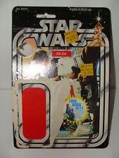 R5-D4 20 Back Vintage Cardback FULL CARD Star Wars LP