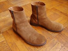 Barneys New York Brown Suede Leather Boots Size 10 M