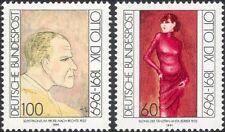 Germany 1991 Otto Dix/Artist/Painters/Art/Paintings/Portraits/People 2v (n44953)