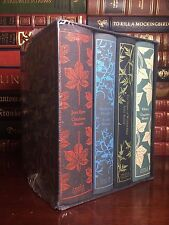 Bronte Sisters New Deluxe Cloth Hardcover Boxed Set Wuthering Heights Jane Eyre